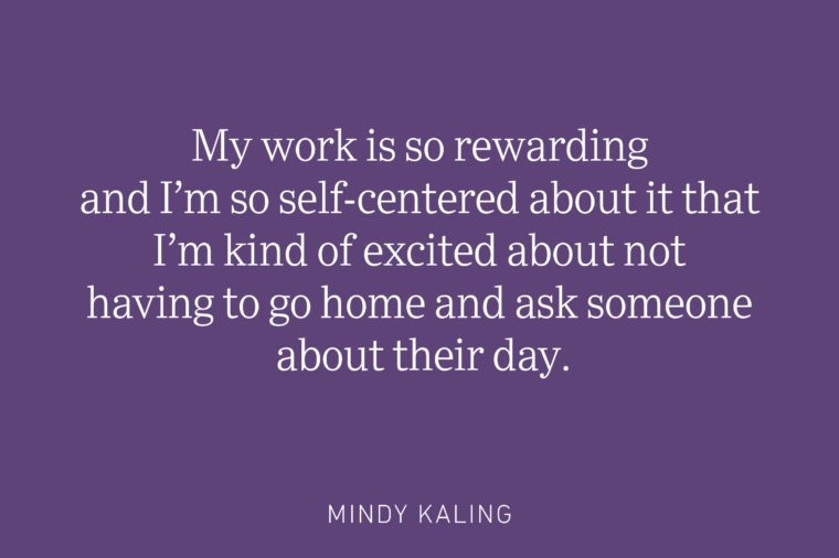 mindy kaling being single quote