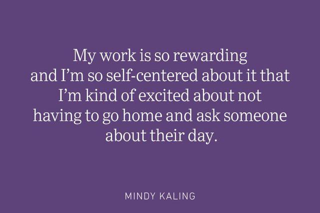 mindy kaling being single quote