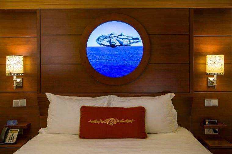 disney cruise line stateroom virtual porthole star wars
