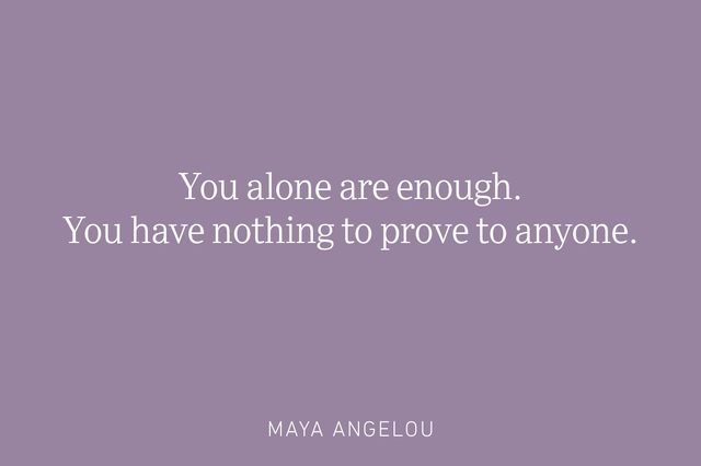 maya angelou being single quote