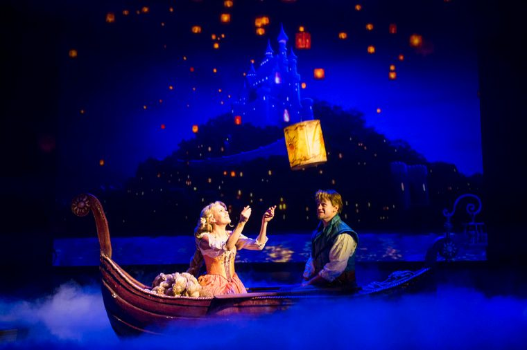 Tangled musical on board disney cruise ship