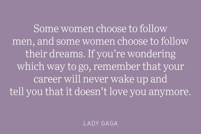 lady gaga being single quote