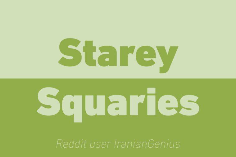 starey squaries walkie talkie reddit