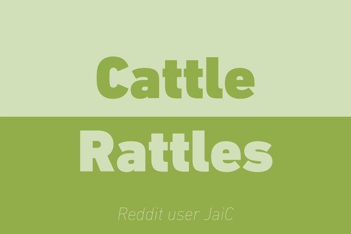 cattle rattles walkie talkie reddit