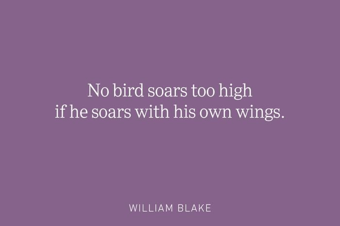 william blake being single quote