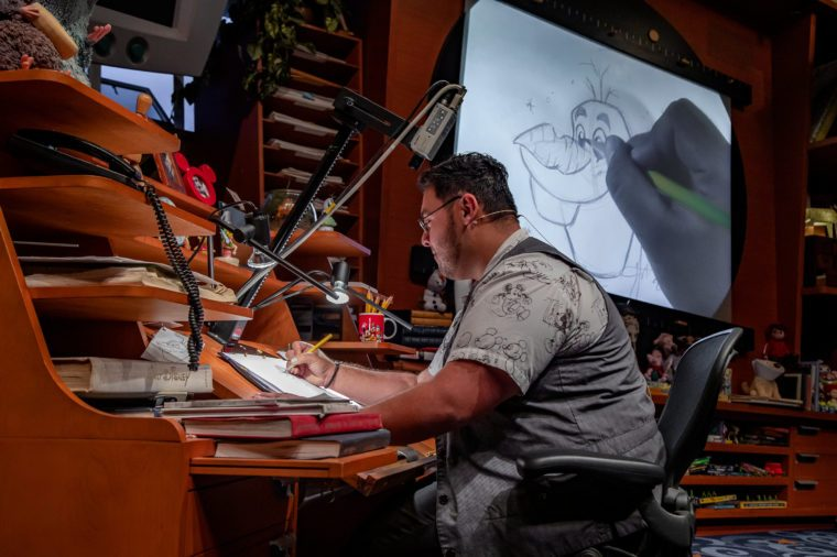 Animation Academy located in Hollywood Land at Disney California Adventure Park