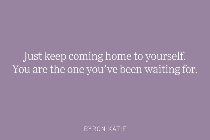 byron katie being single quote
