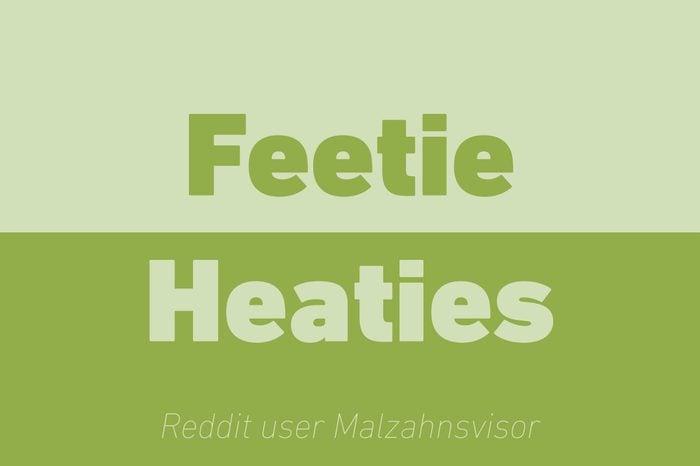 feetie heaties walkie talkie reddit