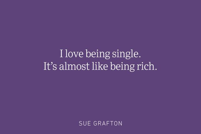 sue grafton being single quote