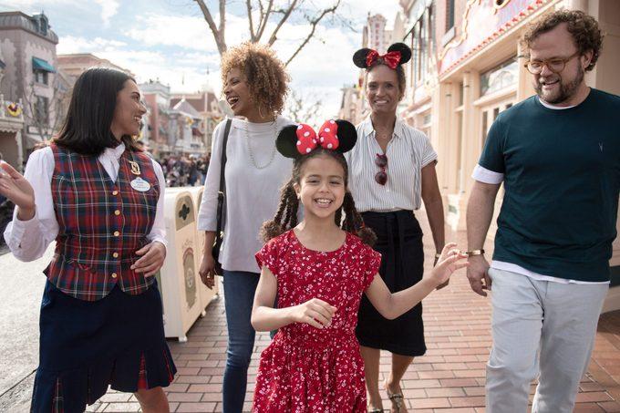 "The ""Walk in Walt's Footsteps"" tour at Disneyland park"