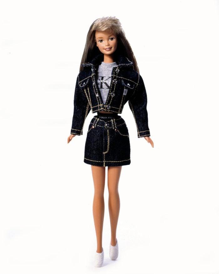 calvin klein barbie doll