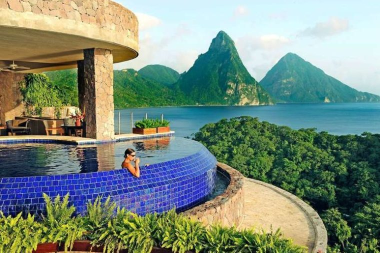 jade mountain resort st. lucia
