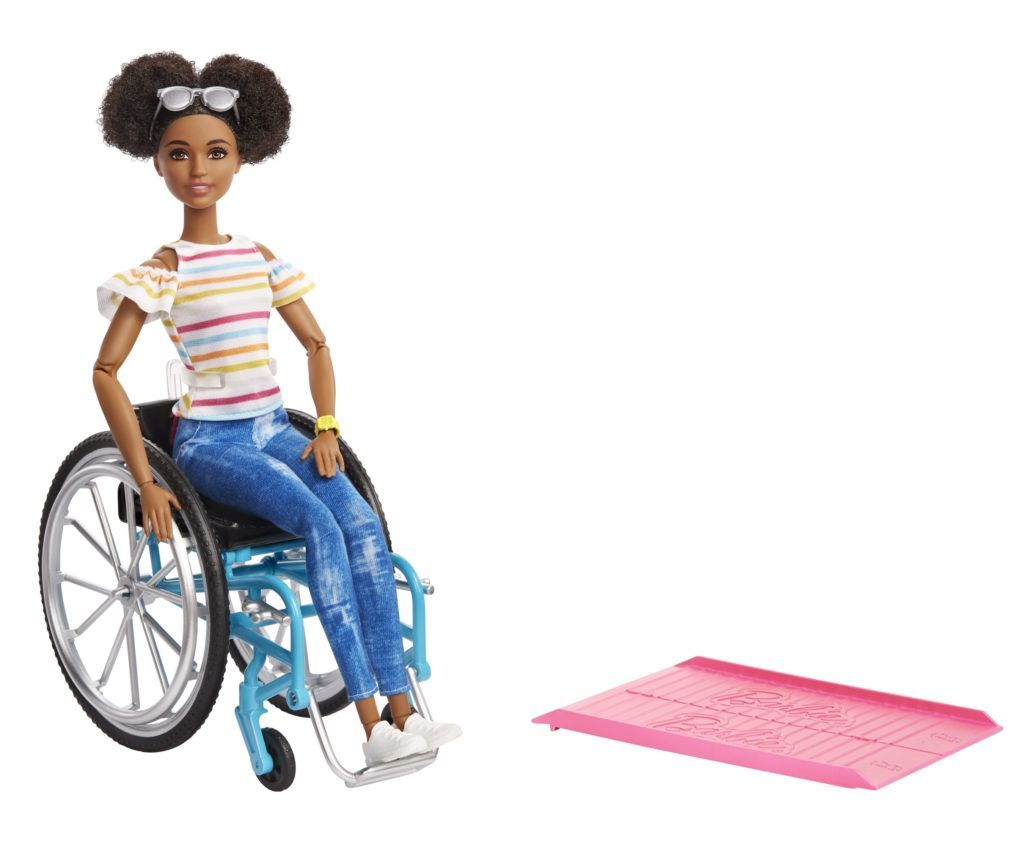 barbie wheelchair fashionista