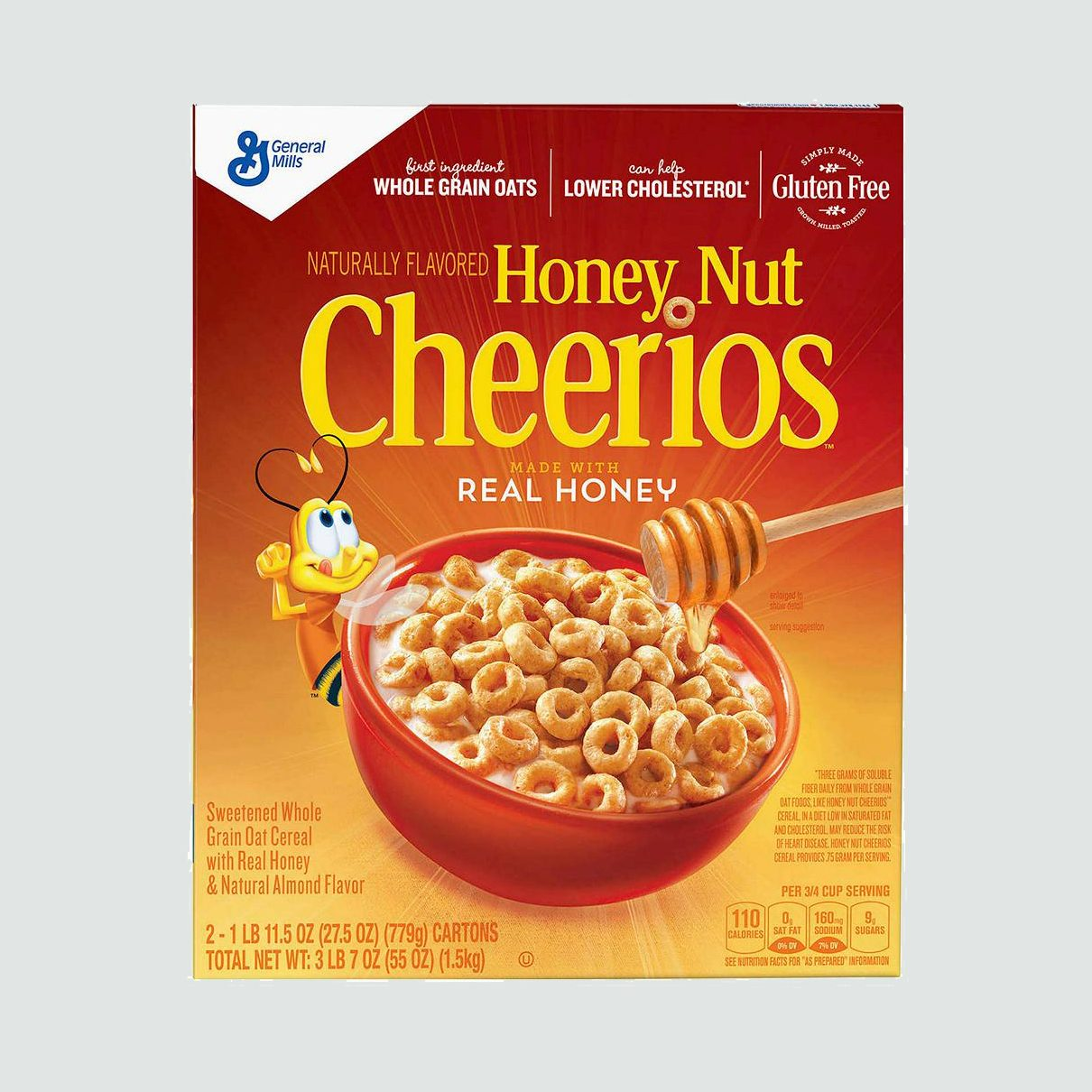 name brand cereal cheerios