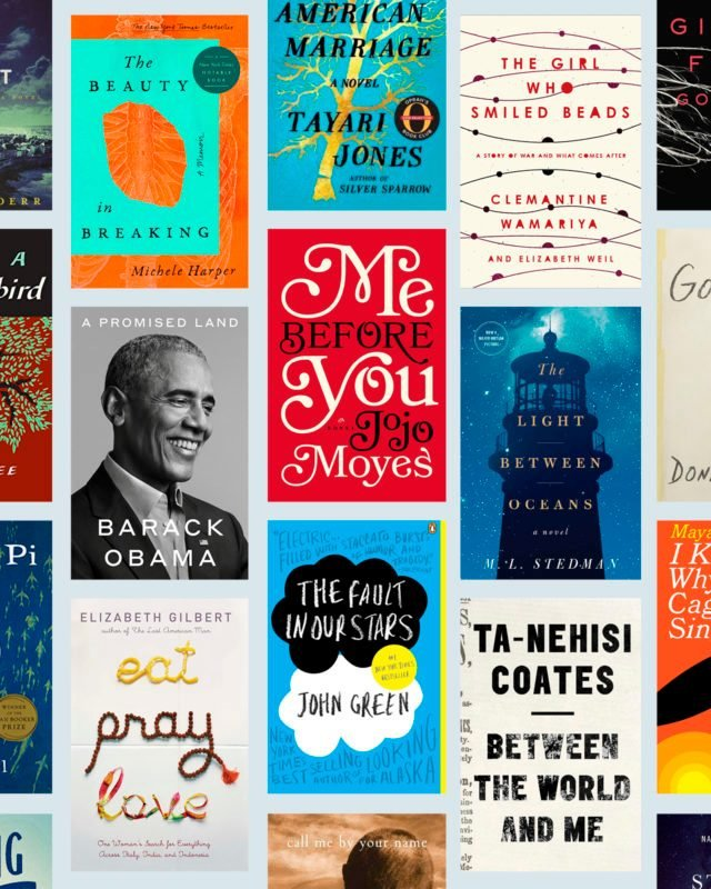 Collage of favorite book covers
