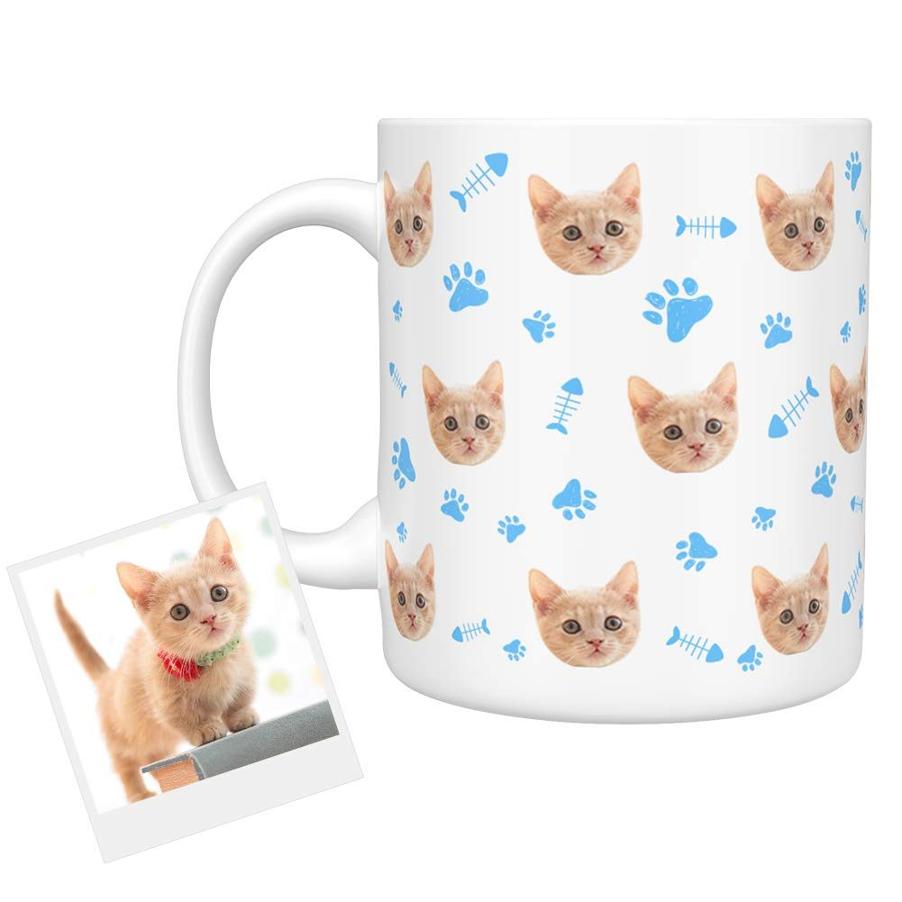 personalized cat mug