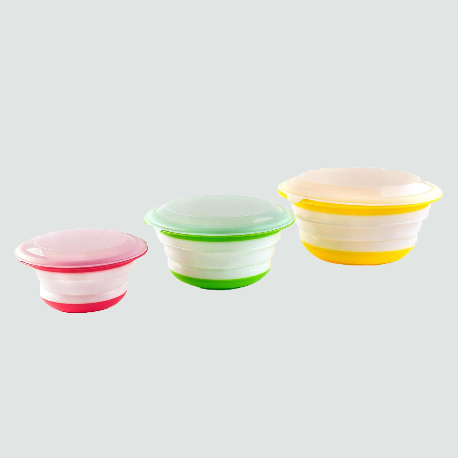silicone collapsable storage set