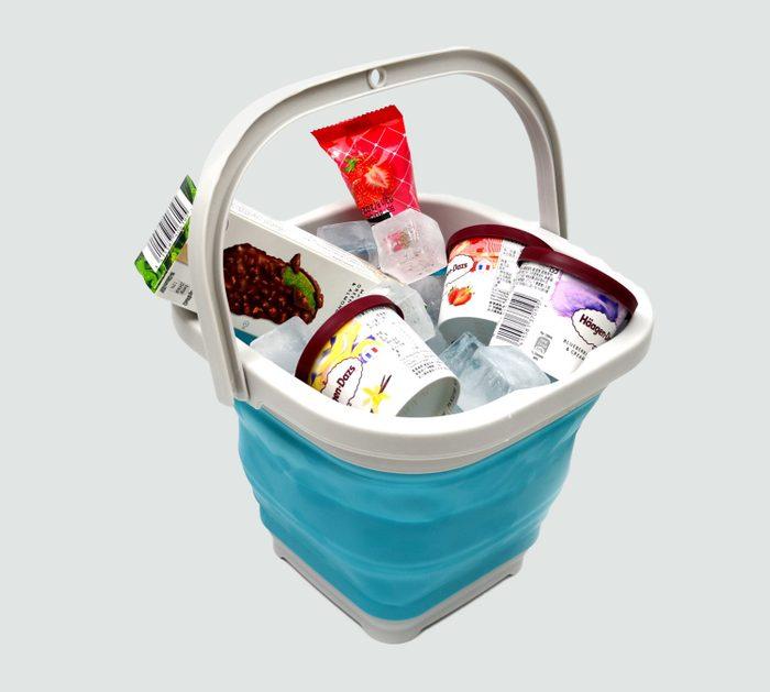 collapsable bucket