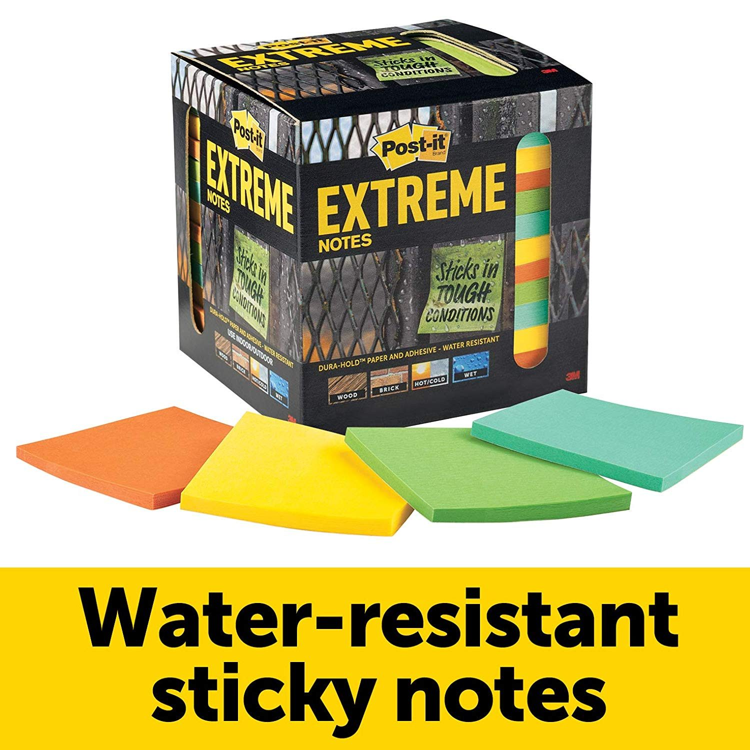 water resistant post it notes