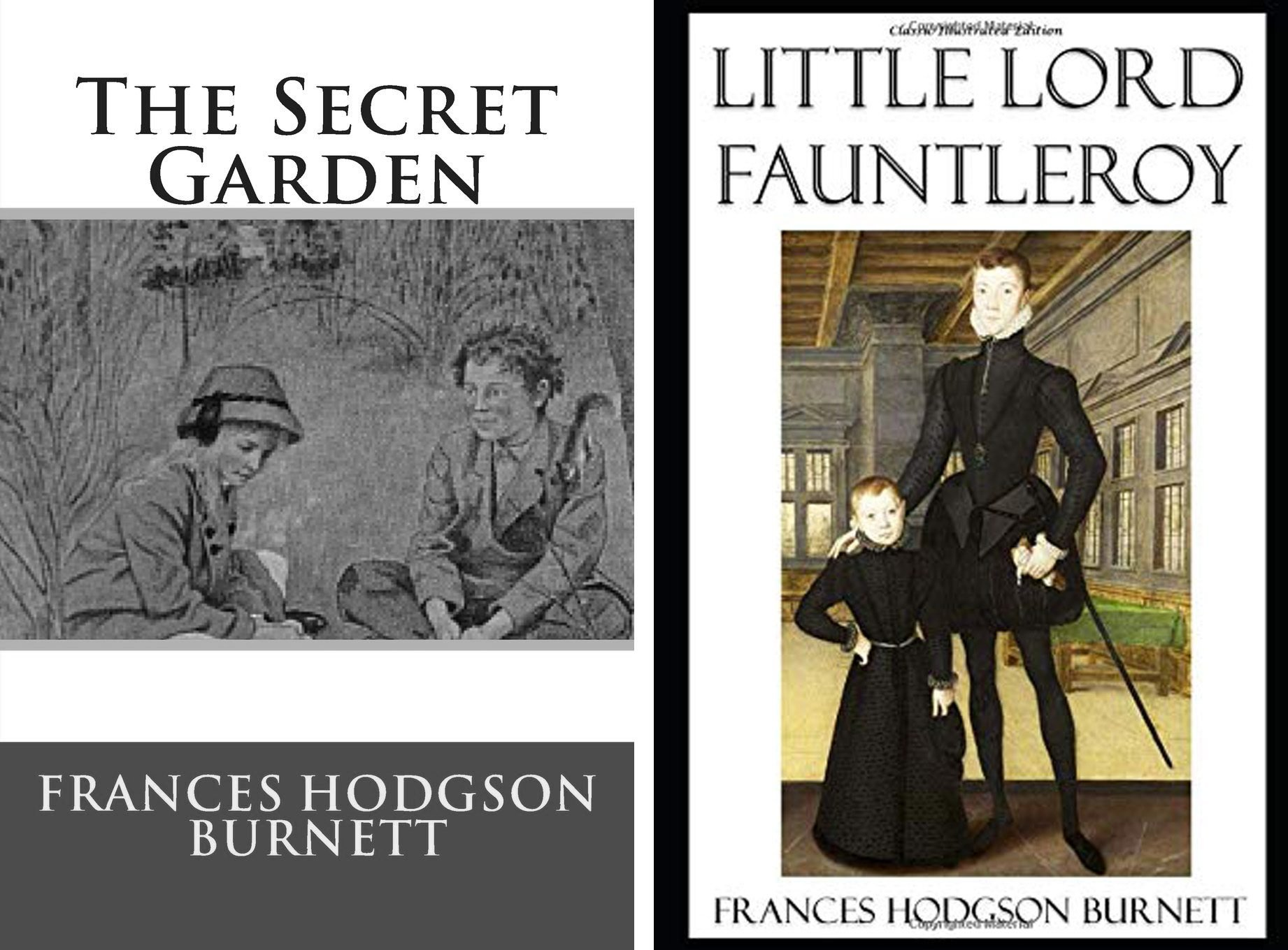 the secret garden and little lord fauntleroy books