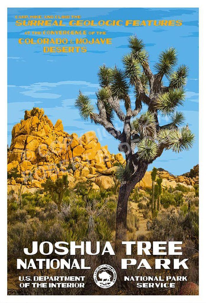 joshua tree california poster