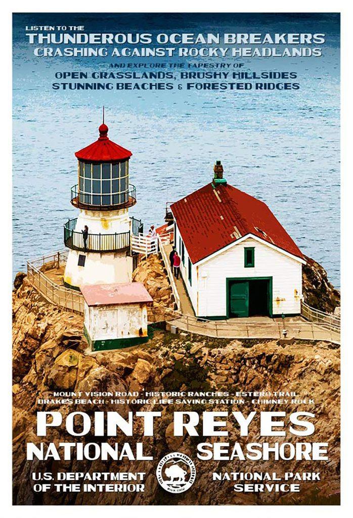 point reyes postcard