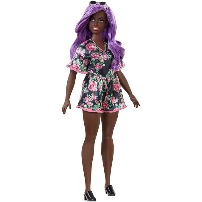barbie fashionista purple hair