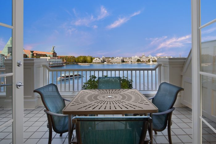 beach club Disney Hotels with the Best Views
