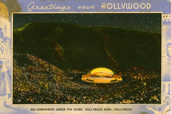 california vintage postcard