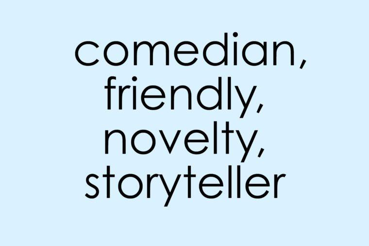 century gothic font comedian friendly novelty storyteller
