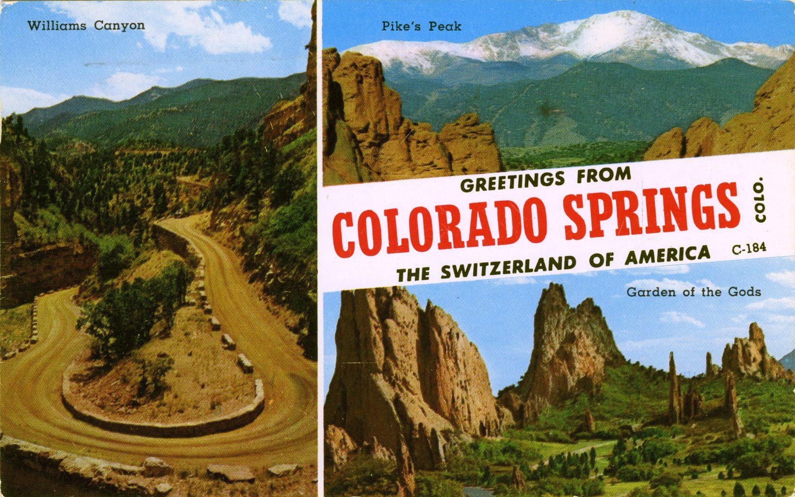 vinage colorado postcard