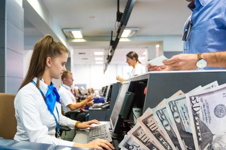 airport cash voucher