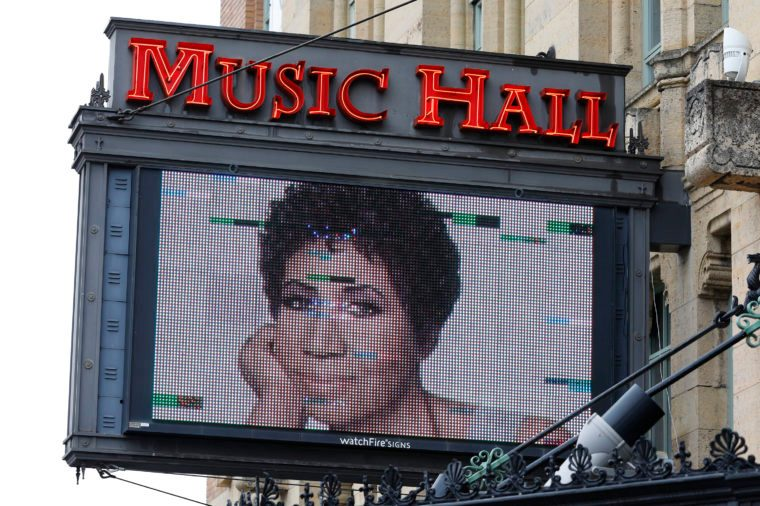 Aretha Franklin Music Hall in Detroit michigan live music