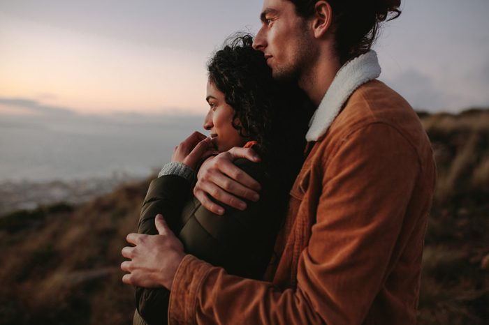 romantic couple getawat resort