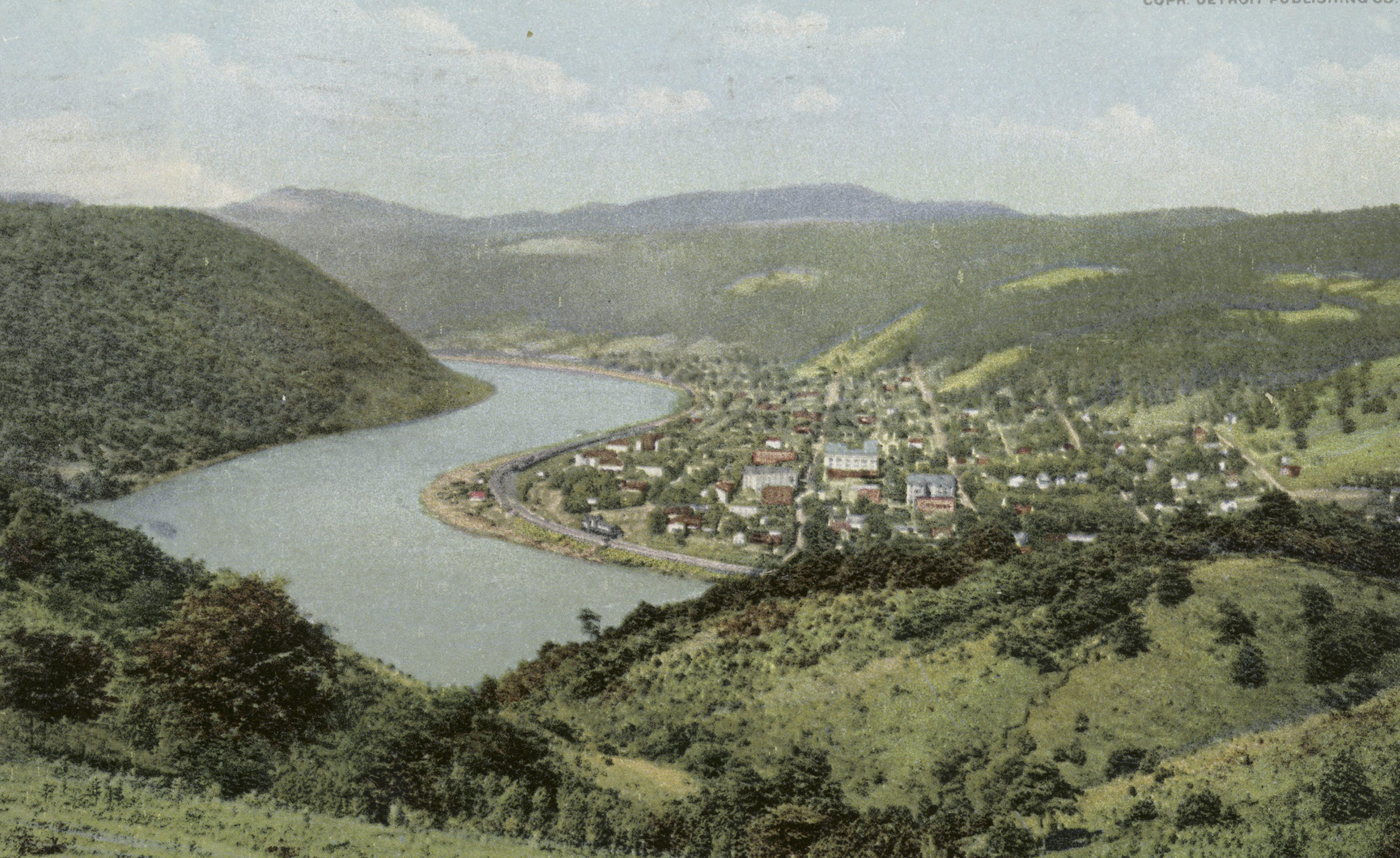 Detroit Publishing Company west virginia vintage postcard