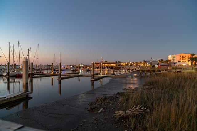 AMELIA ISLAND SUNSET florida most romantic towns
