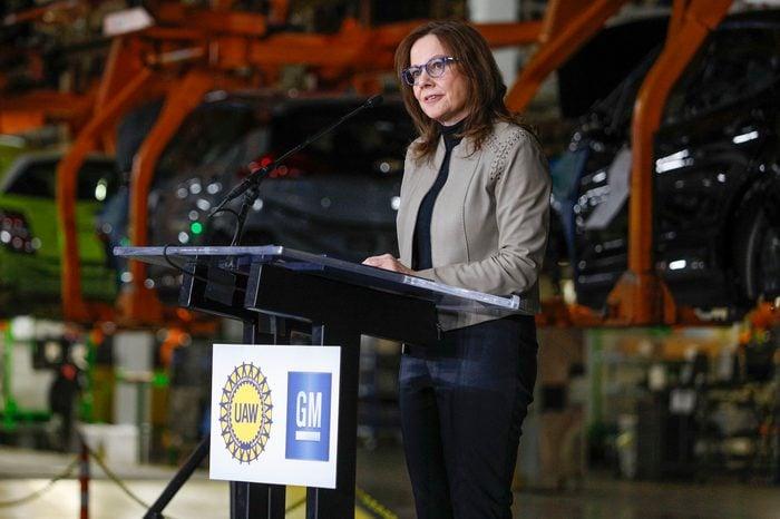 Mary Teresa Barra CEO GM