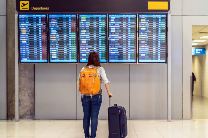 airport layover traveler