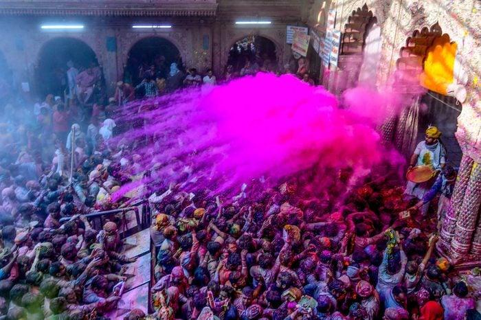 India Holi Festival spring