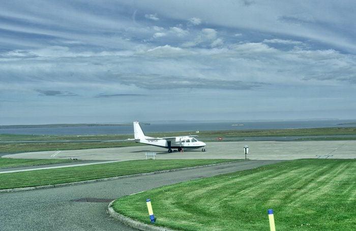 scotland short flight