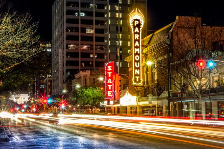 Austin texas live music city