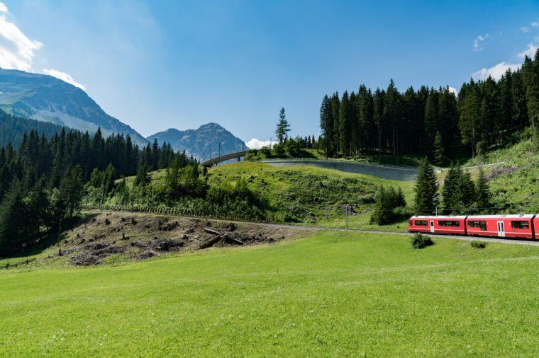 Arosa, Switzerland spring break