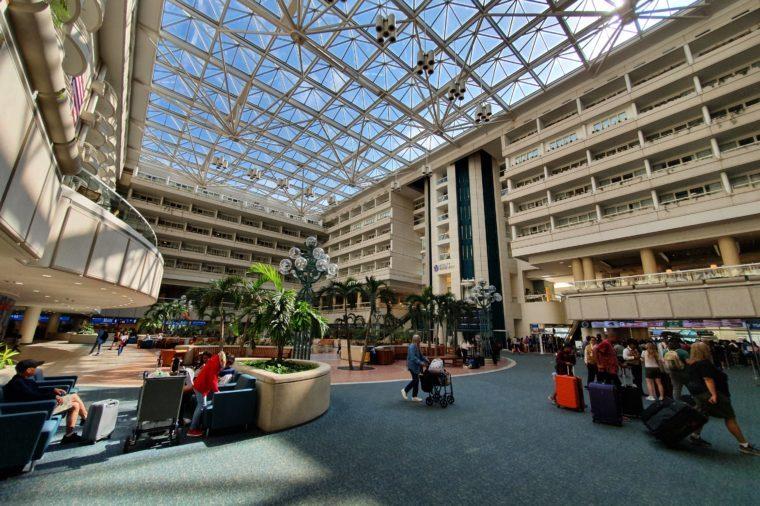 orlando international airport (MCO)