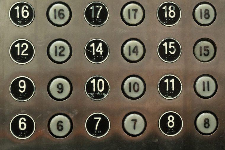 elevator 13th floor friday the 13th unlucky