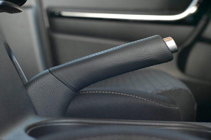 car emergency break handle