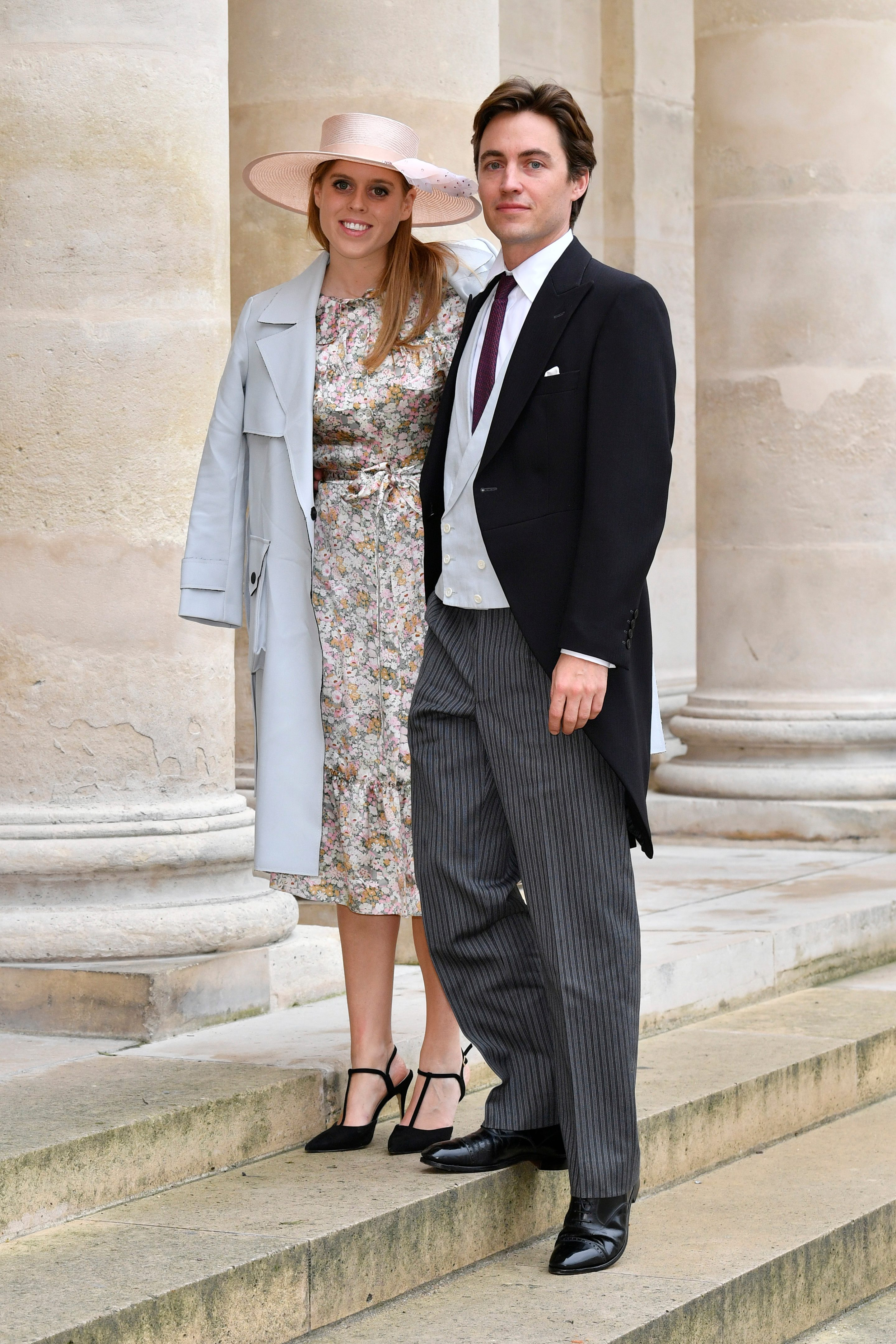 Princess Beatrice d'York and her fiance Edoardo Mapelli Mozzi wedding
