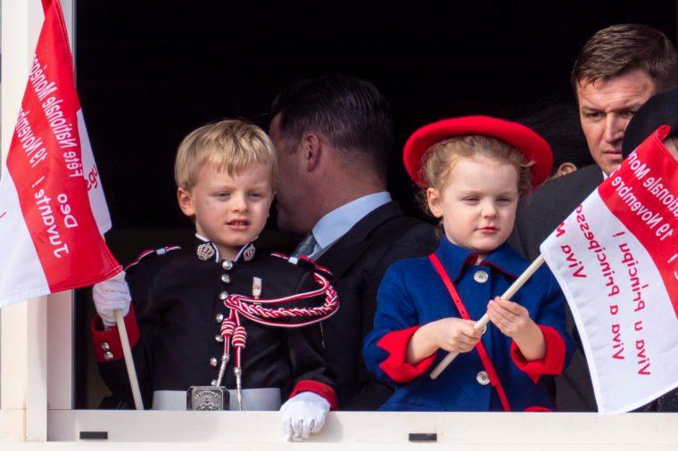 Princess Gabriella of Monaco and Prince Jacques of Monaco