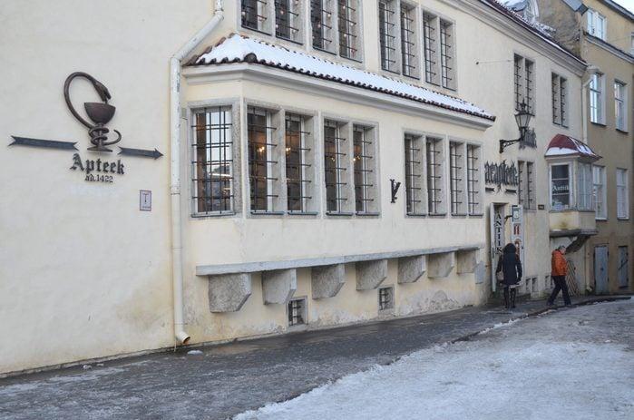 The Raeapteek estonia pharmacy