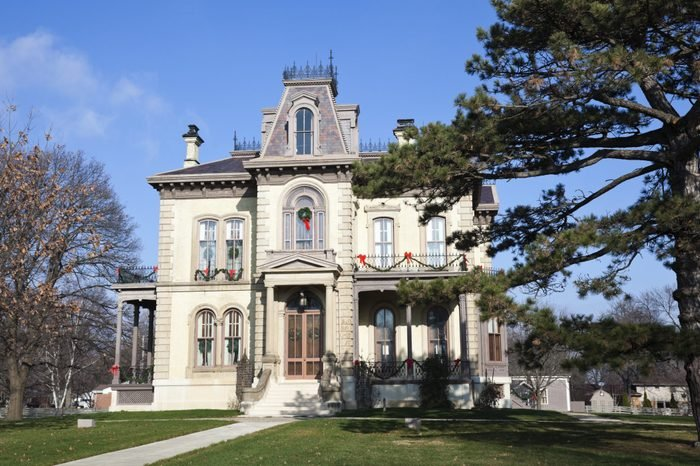 The David Davis Mansion
