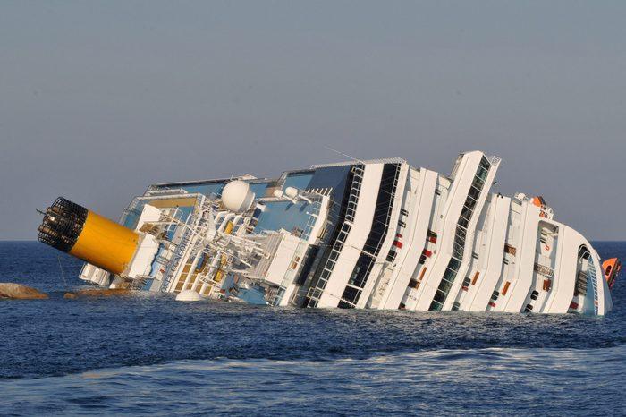 Cruise Ship Costa Concordia friday the 13